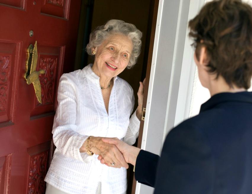 Знакомство с новыми соседями